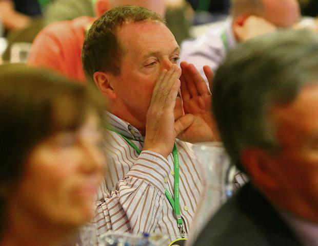 The bad manners displayed by some teachers towards Minister for Education Ruairi Quinn at the teachers' conferences didn't do them any favours. Photo: Patrick Browne