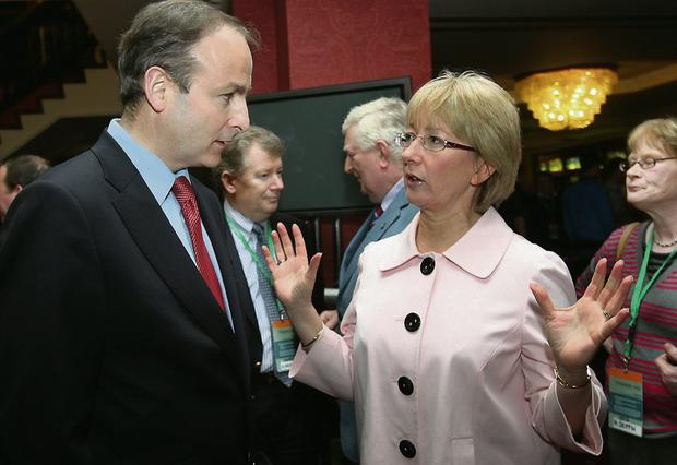 Mr Martin said he disagrees with former education minister Mary Hanafin who last week launched a scathing attack on the performance of Fianna Fail's front bench.