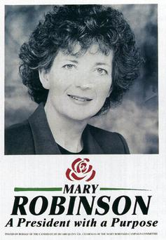 1990 election poster