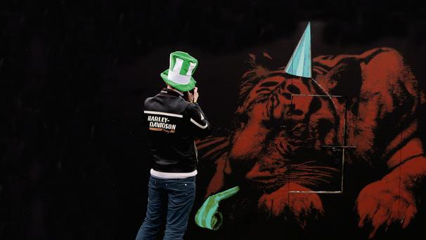 Prosperity: Alex Salmond insisted an independent Scotland could build a 'Celtic Lion'. Photo: Niall Carson.