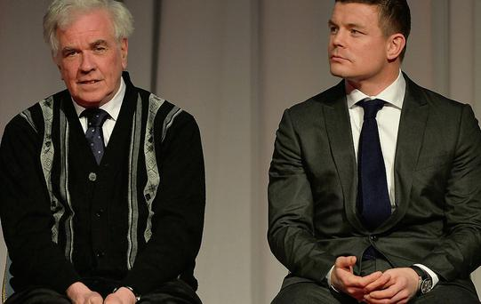 Fr Peter McVerry and Brian O'Driscoll both clarified they weren't endorsing a candidate.