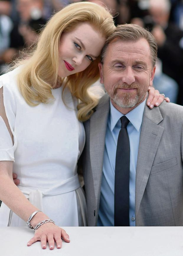 Nicole Kidman and Tim Roth at the 'Grace of Monaco' photocall during the 67th Cannes Film Festival in France. Photo: Pascal Le Segretain