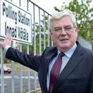 Labour Party leader, Eamon Gilmore