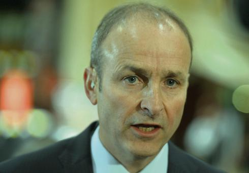 Micheal Martin. Photo: Michael Mac Sweeney