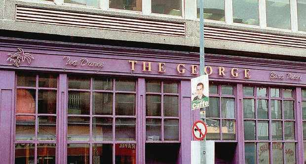 The George Bar where the incident occurred