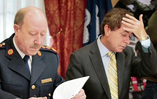 'In the maelstrom of controversy that followed, the careers of two other men of integrity were destroyed: Alan Shatter and Martin Callinan.' Photo: Frank Mc Grath