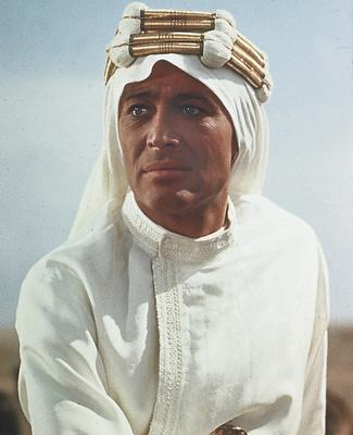 Peter O'Toole in 'Lawrence of Arabia'. Photo: Popperfoto