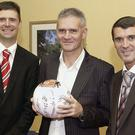 Sunderland AFC v Leicester ball presentation in the Durham Suite with Chairman Niall Quinn and Manager Roy Keane with Vincent Hogan . Dear David, Please find attached pictures as requested Kindest regards Louise Wanless Media and PR Manager Sunderland Association Football Club Ltd, Sunderland Stadium of Light, Sunderland. SR5 1SU. Registered in England: 49116 Tel 0191 551 5063 Fax: 0191 551 5070 Mob 07950 203817 Website: www.safc.com