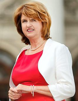 Tanaiste and Labour Party leader Joan Burton