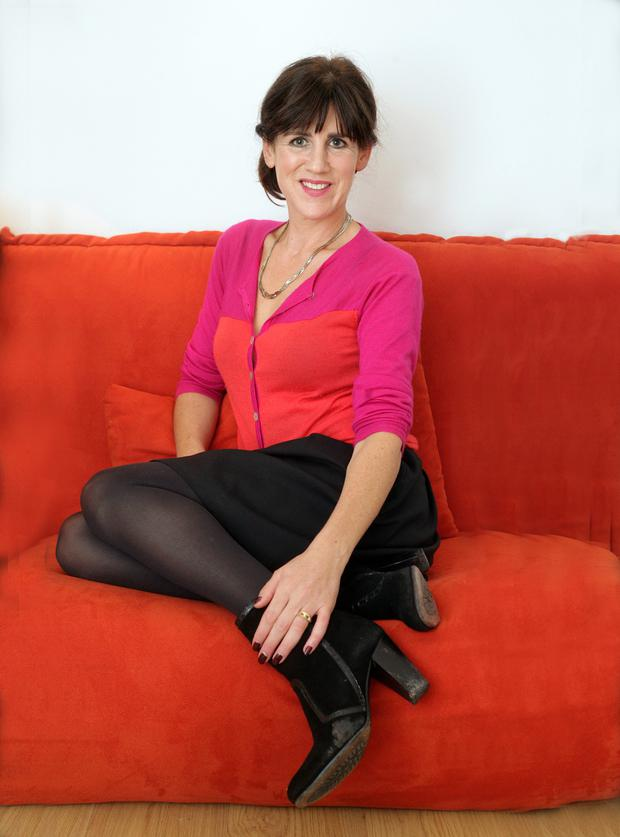 Emily Hourican , Author of 'How to (really ) be a Mother' at home in Stillorgan. Photo: Ronan Lang/Feature File.