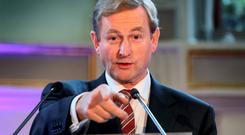 Enda Kenny; dissatisfaction with party leaders has grown