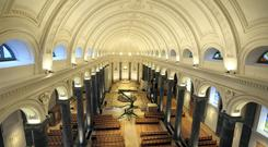The newly restored St Mel's Cathedral, Longford. Photo: James Flynn/APX