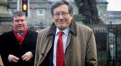 Banking expert Peter Nyberg found that in Ireland people with contrarian views were not listened to. Photo: Gareth Chaney / Collins