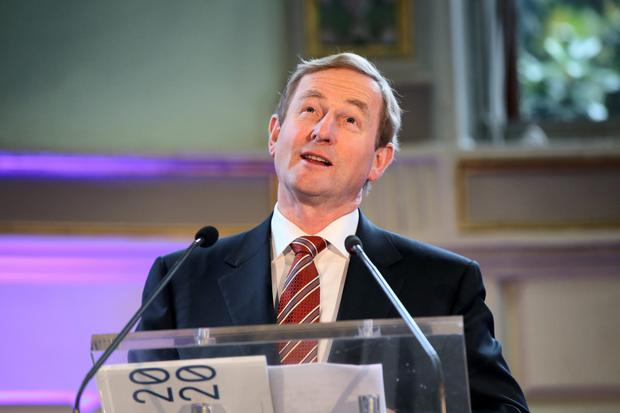 Taoiseach Enda Kenny Photo: Frank Mc Grath