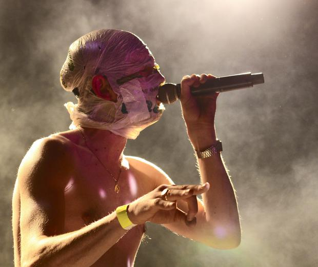 DEBATE: The Rubberbandits' Blindboy was on the 'History Show'. Photo: Colm Kelly