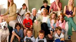 NO LAUGHING MATTER: You don't need hordes of children, as in Cheaper by The Dozen, to experience the very real difficulties of riasing children in Ireland, whether you are a working or stay-at-home parent