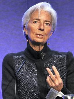 AMBITIOUS, MOI?: Do you think Christine Lagarde - who hailed the Irish people as ''heroes' and the late Saudi King as a 'strong advocate of women' - has any interest, other than her own personal career path towards the French presidency?