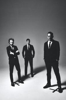 Daniel Kessler, Paul Banks and Sam Fogarino make up the current Interpol line-up