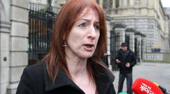 IMPORTANT ISSUE: Clare Daly proposed a bill to legalise terminations in the case of fatal foetal abnormality