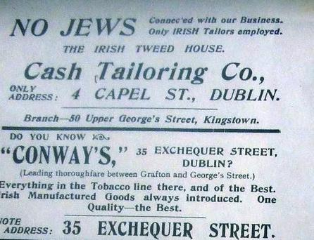 Ad from the early 20th century