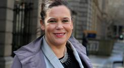 CAN BE DISCIPLINED: Mary Lou McDonald