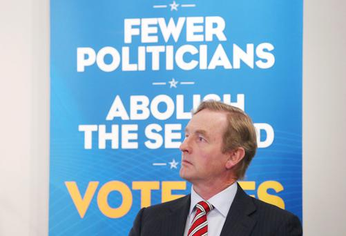 Taoiseach Enda Kenny originally sought to abolish the Seanad, but now his reforms could breathe new life into it
