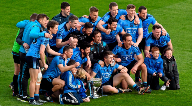 Did Dublin's third league title in a row make the players feel in any way compensated for last year's championship defeat by Donegal?