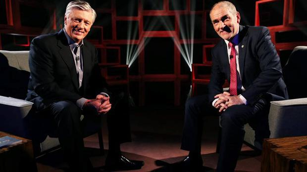 Pat Kenny interviewed Mickey Harte on 'Pat Kenny in the Round'