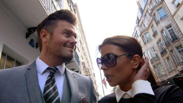 Money maker: David and Victoria Beckham are just two of lookalikes making money from their appearances