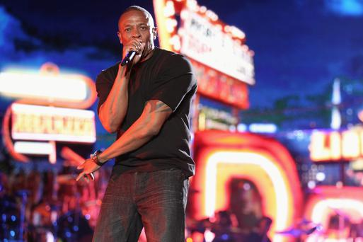 Rich pickings: Dr Dre made $620m in 12 months