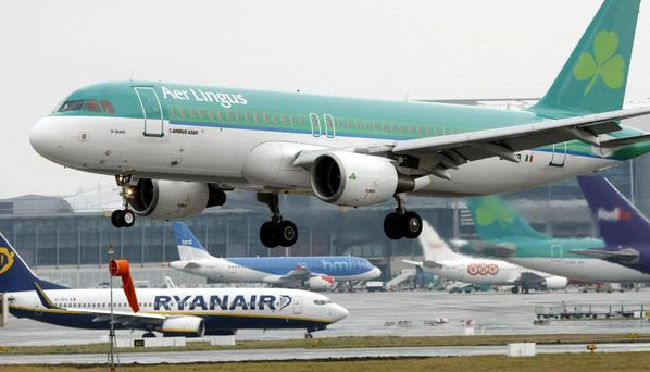 DOMINANCE: Ryanair's deal would add to the viability of Aer Lingus expanding its list of North American destinations