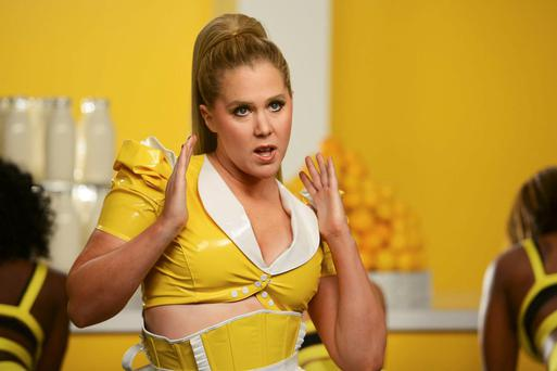 Rising star: Amy Schumer is the star of her own sitcom on Comedy Central.