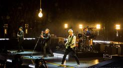 Intimate: Tickets for the U2 gigs at the 3Arena go on sale this Monday.