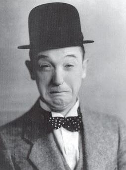 Stan Laurel: Highly sensitive people feel more deeply and cry a lot.