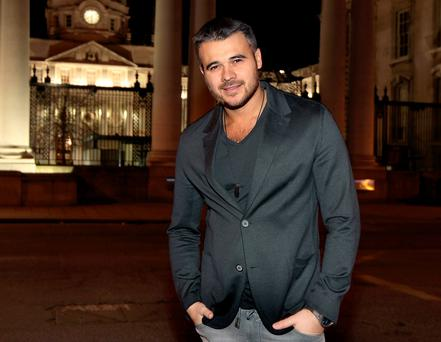 Ready to pay: Emin would splash the cash to have a worldwide hit but so far international stardom has eluded him.