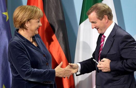 Taoiseach Enda Kenny struck a deal with German Chancellor Angela Merkel's political party after Fine Gael became concerned that junior minister Dara Murphy would fail to be appointed to a top EU political post