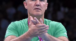 Billy Walsh denied that the dispute had anything to do with money