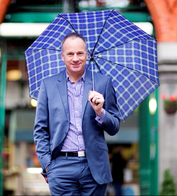 Campaign: Brian Sheehan of Glen who spearheaded the Yes victory Photo: David Conachy