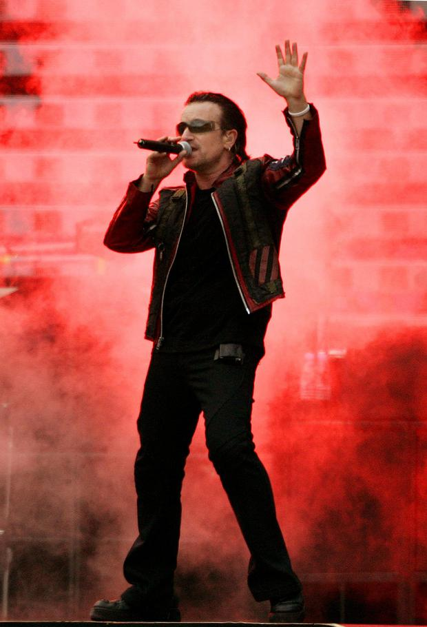 Plea: Bono has urged caution in our immigration policies.