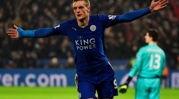 Jamie Vardy Photo: Getty Images