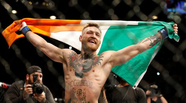 UFC featherweight champion Conor McGregor