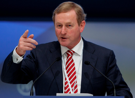 Enda Kenny: tax cuts pledge