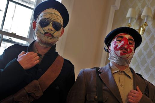 Insight: Blindboy Boat Club and Mr Chrome, of The Rubberbandits, gave their version of the 1916 Rising in their own RTE show.