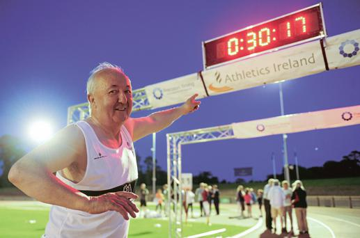 Frank Greally believes running is as much spiritual as physical. Photo: Sportsfile.