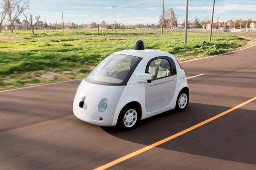 Hope: The Google self-driving car began testing last yea