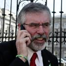 UPSET: Gerry took to Twitter to show his upset at the snub