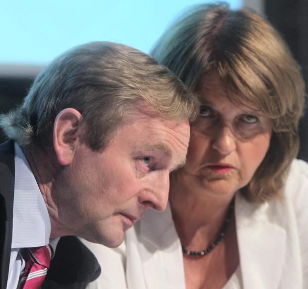 Sources within Fine Gael say the acting Taoiseach was 'very fond' of the idea of another Labour coalition because, despite his sometimes awkward relationship with Joan Burton, she has proven herself to be loyal