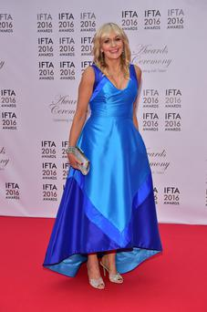Miriam O'Callaghan at the 2016 IFTAs