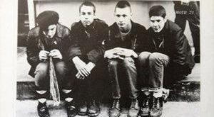 FOUNDER: John Berry (second from right) in Beastie Boys