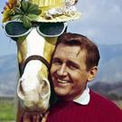 HORSE PLAY: Alan Young with his equine co-starpiece